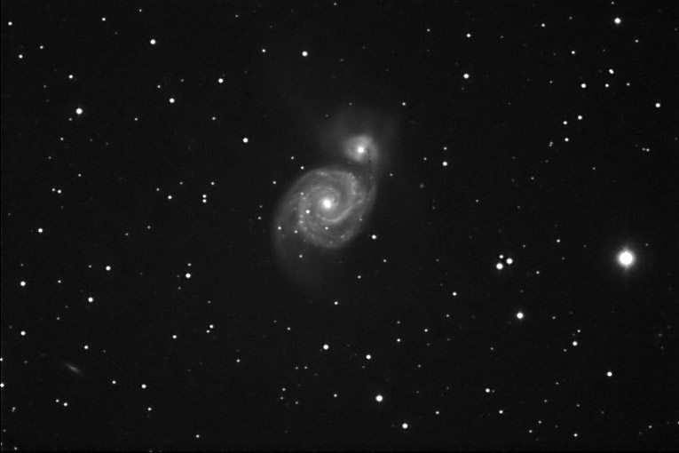 Pentax 75 SDHF, Sbig ST-402ME, mount CG-5 GT AT, 9x240s, TVAutoguider MMys, AstroArt 4.0, Gimp 2.2