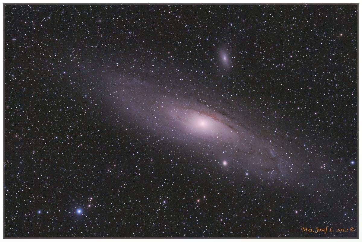 Pentax 75, Canon 40Da cooled, exp. 17x 123s, , mount Vixen PhotoGuider, Nebulosity 2, IRIS, LightRoom